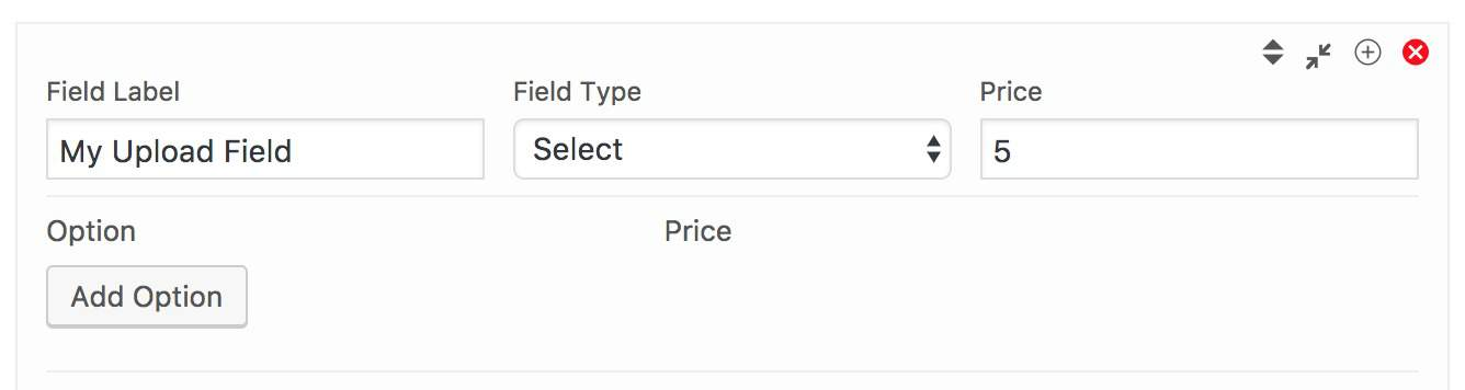 Add select field