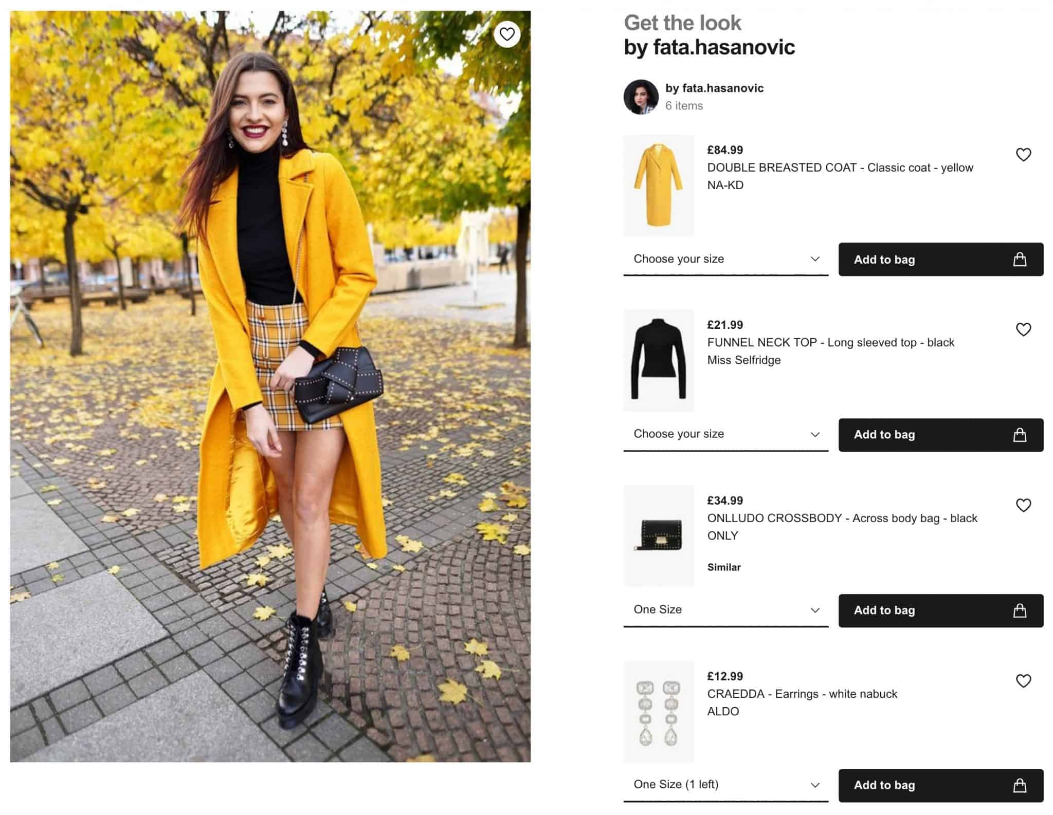 Example get the look page
