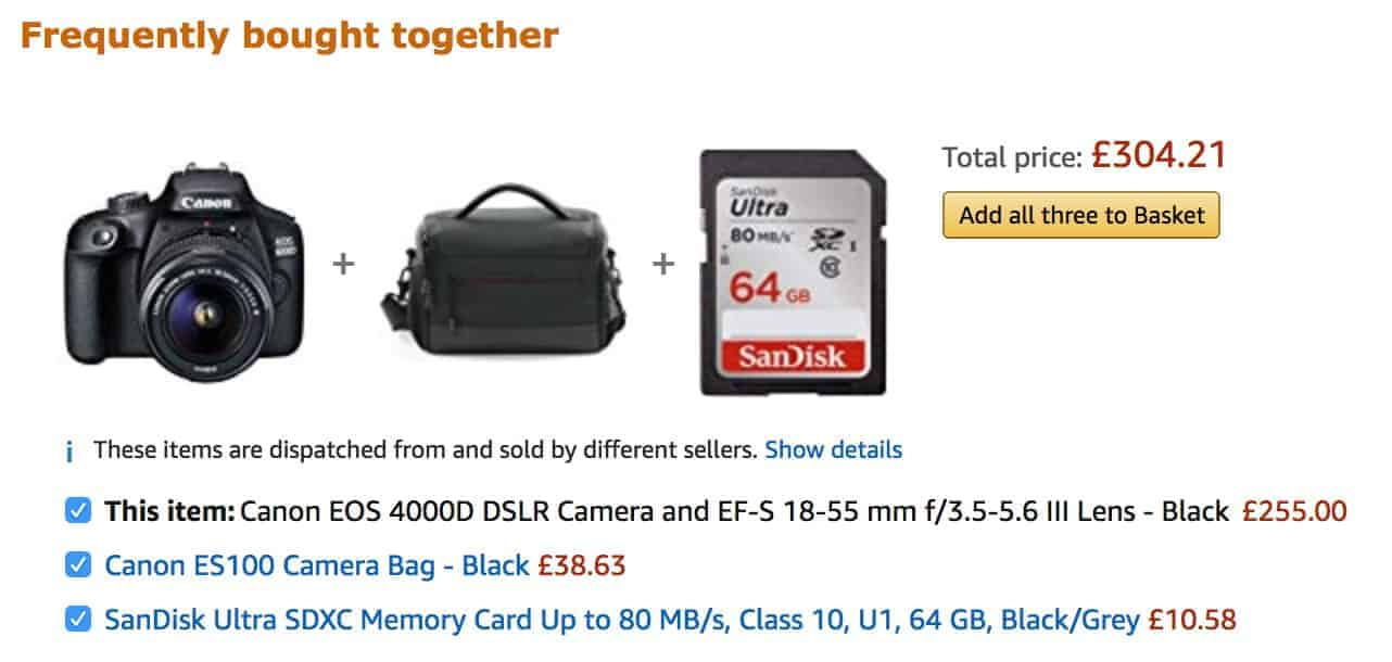 Frequently bought together WooCommerce