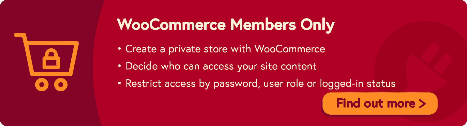 Protect WooCommerce categories