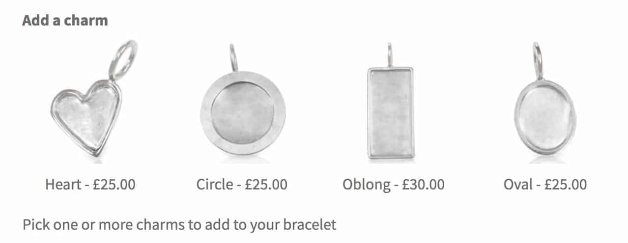 WooCommerce image swatch field for jewelry charms