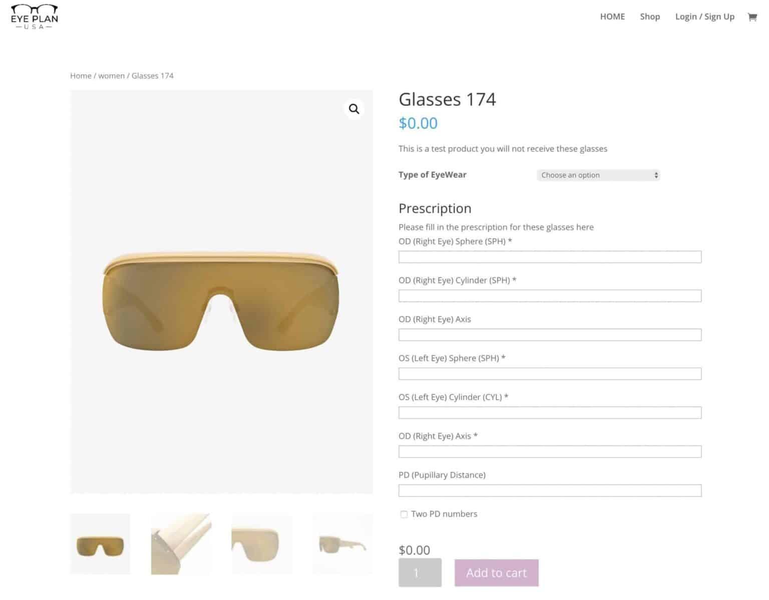 Eye Plan USA - online optician