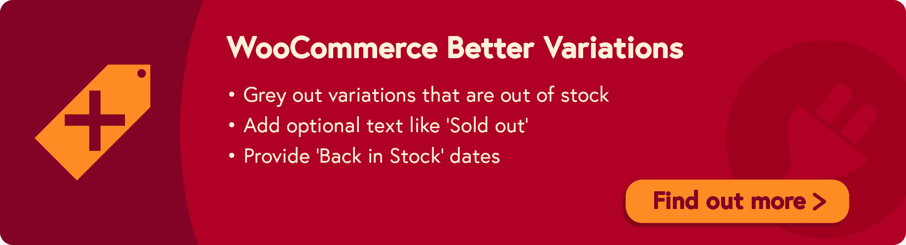 WooCommerce Better Variations