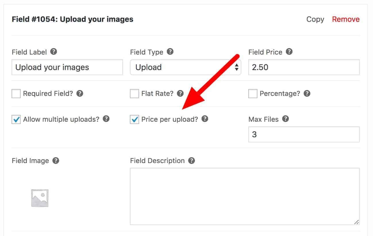 Price per upload