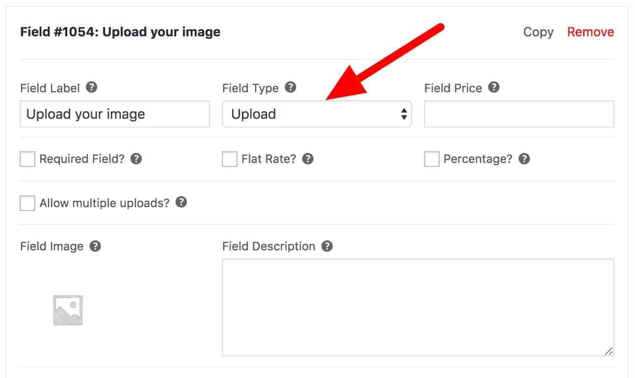 WooCommerce custom file upload field