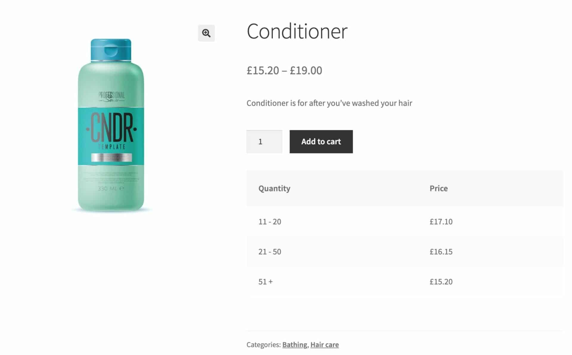 Sell beauty products online with bulk discounts