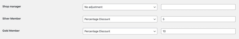 Discounts for members