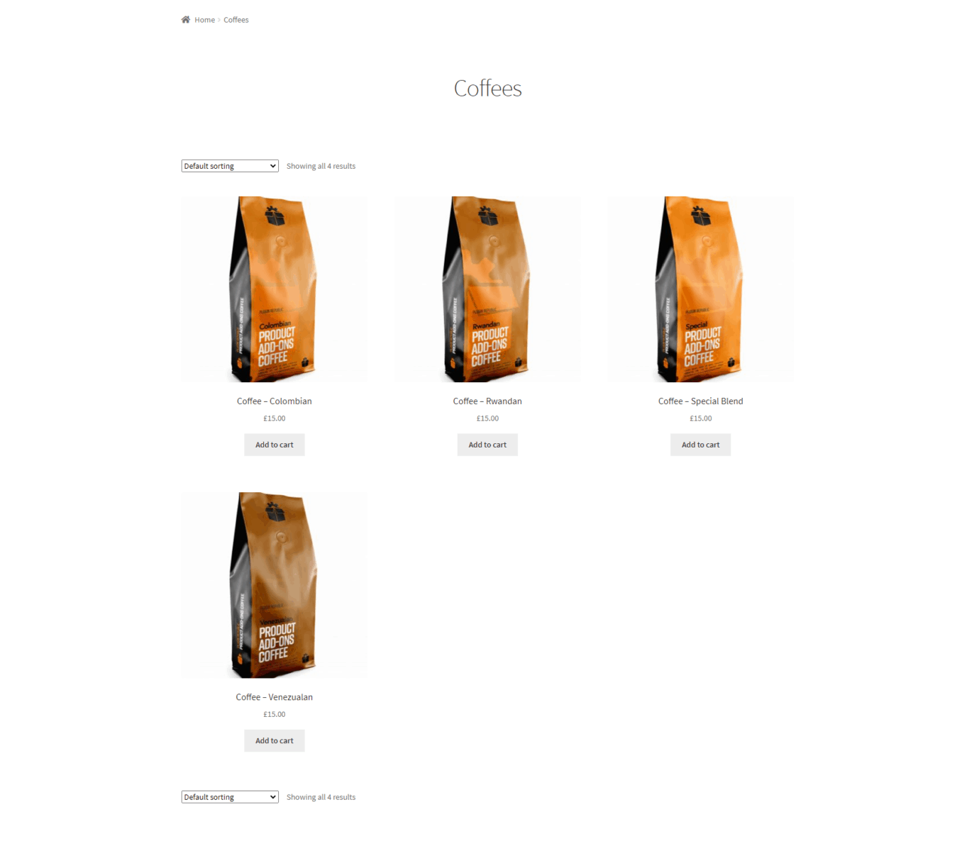 Visible product prices WooCommerce