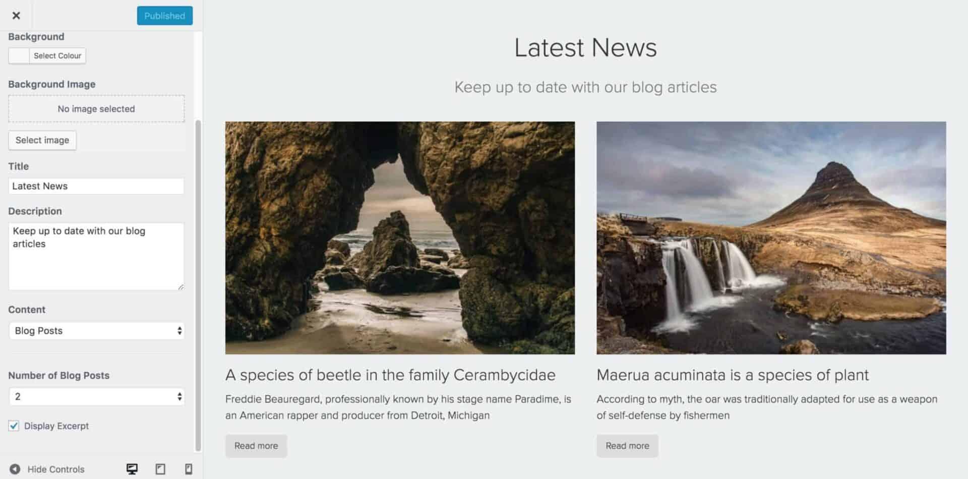 Easy Digital Downloads theme blog